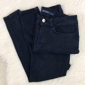 Zara Basic Z1975 Denim Skinny Jeans Dark Navy Sz 2
